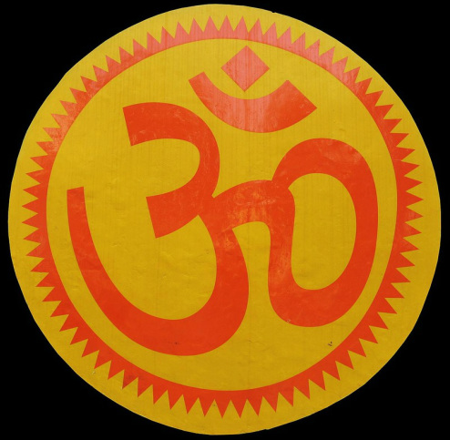 Graphic of the Sacred Symbol Om